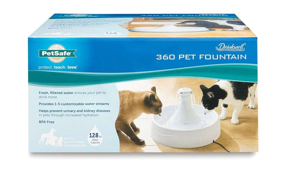 Drinkwell 360 Fountain for Pets Review